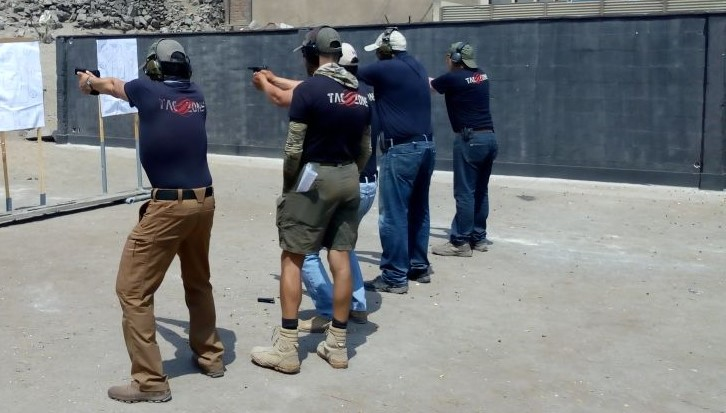 Curso Tiro defensivo: Defensive Focus Shooting