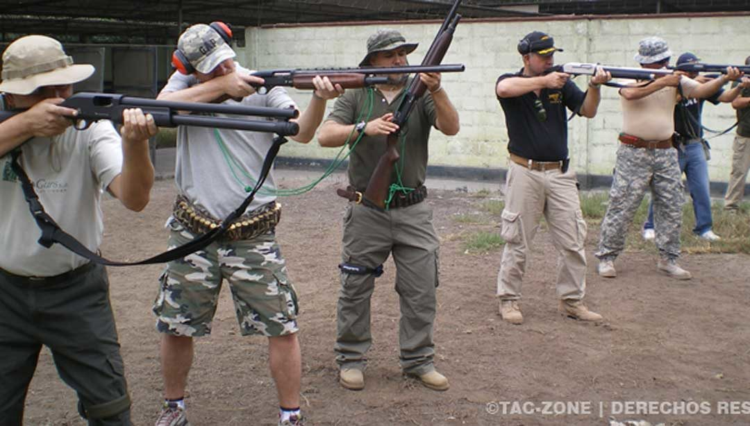 Curso Escopeta defensiva/Defensive Shotgun